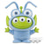 Pixar Characters Fluffy Puffy Mine - Costume Alien - Vol 2 ( C : Flik Costume Alien )