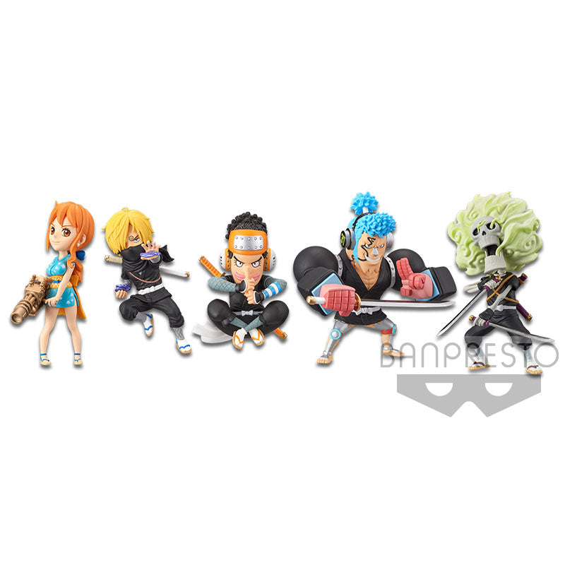 ONE PIECE WORLD COLLECTABLE FIGURE WANOKUNI STYLE 2 (SET)