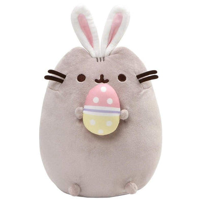 PUSHEEN - EASTER BUNNY SNACKABLE WITH EGG AND BUNNY EARS 10""