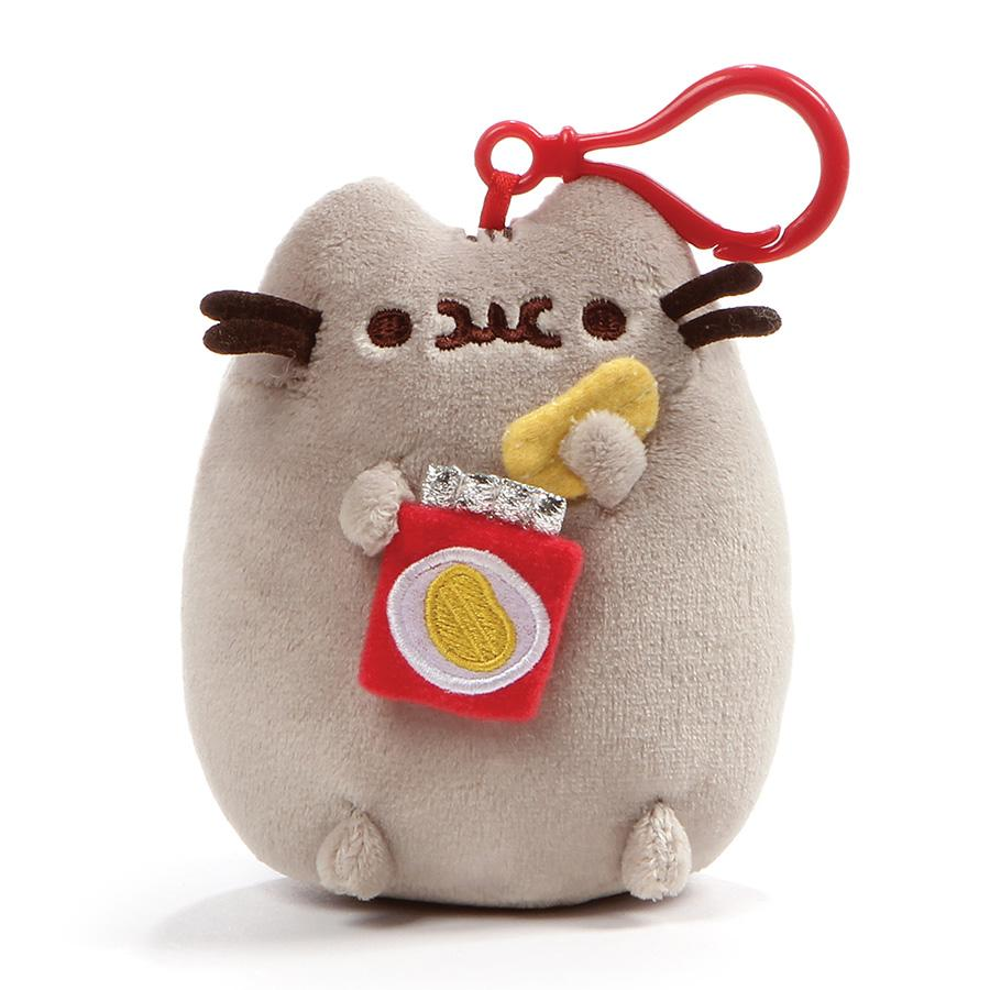 PUSHEEN - POTATO CHIPS BACKPACK CLIP 5""