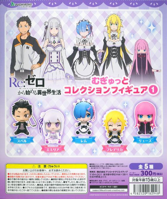 CP1140 Re: Zero kara Hajimeru Isekai Seikatsu : Mugyutto Capsule Collection Figure 1