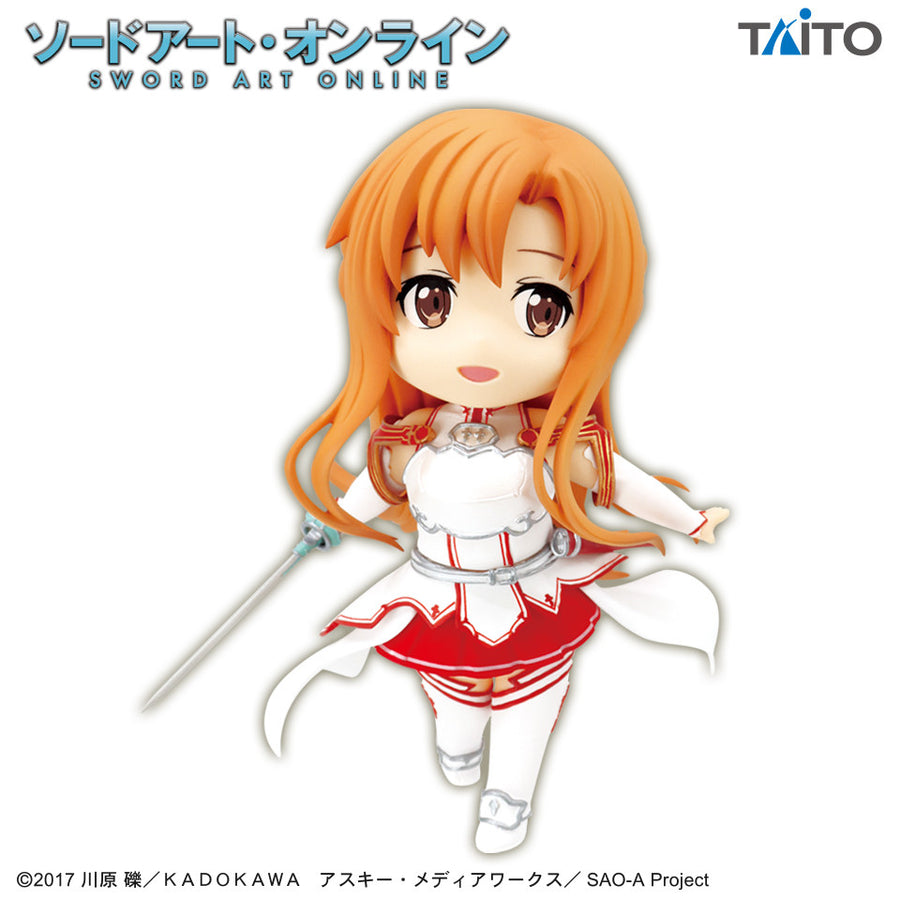 Sword Art Online : Asuna - Knights of Blood Ver. - Puchieete Figure