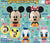 Disney CapChara Disney Friends SP - Complete Set