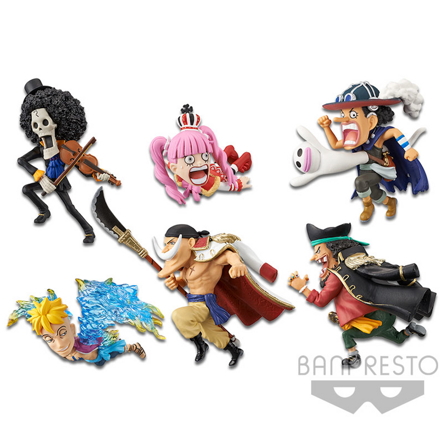 ONE PIECE WORLD COLLECTABLE FIGURE HISTORY RELAY 20TH VOL.3 (SET)