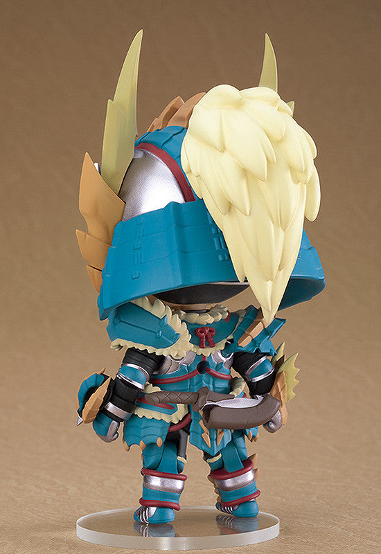 Nendoroid 1421 Hunter : Male Zinogre Alpha Armor Ver.