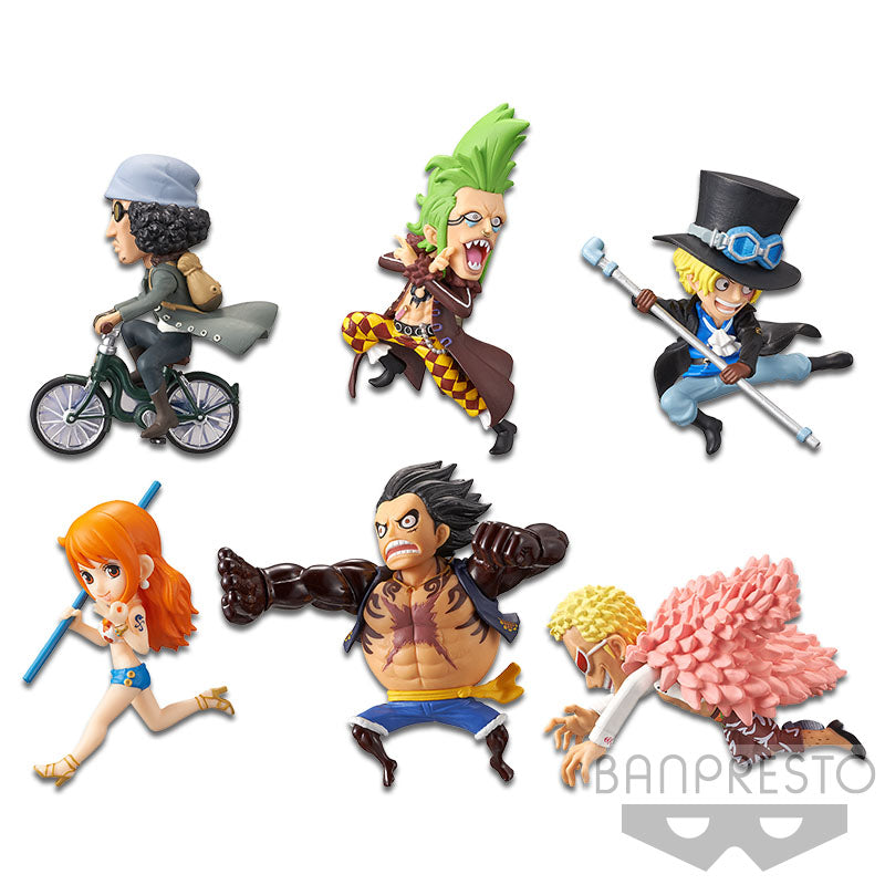 ONE PIECE WORLD COLLECTABLE FIGURE - HISTORY RELAY 20TH VOL.5 (SET)