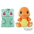 Pokémon Sun & Moon BIG PLUSH - BULBASAUR・CHARMANDER