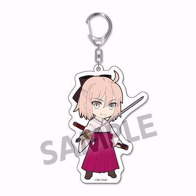 Fate/Grand Order - Pikuriru! Trading Acrylic Keychain vol.2 (4th Run) - Complete Set