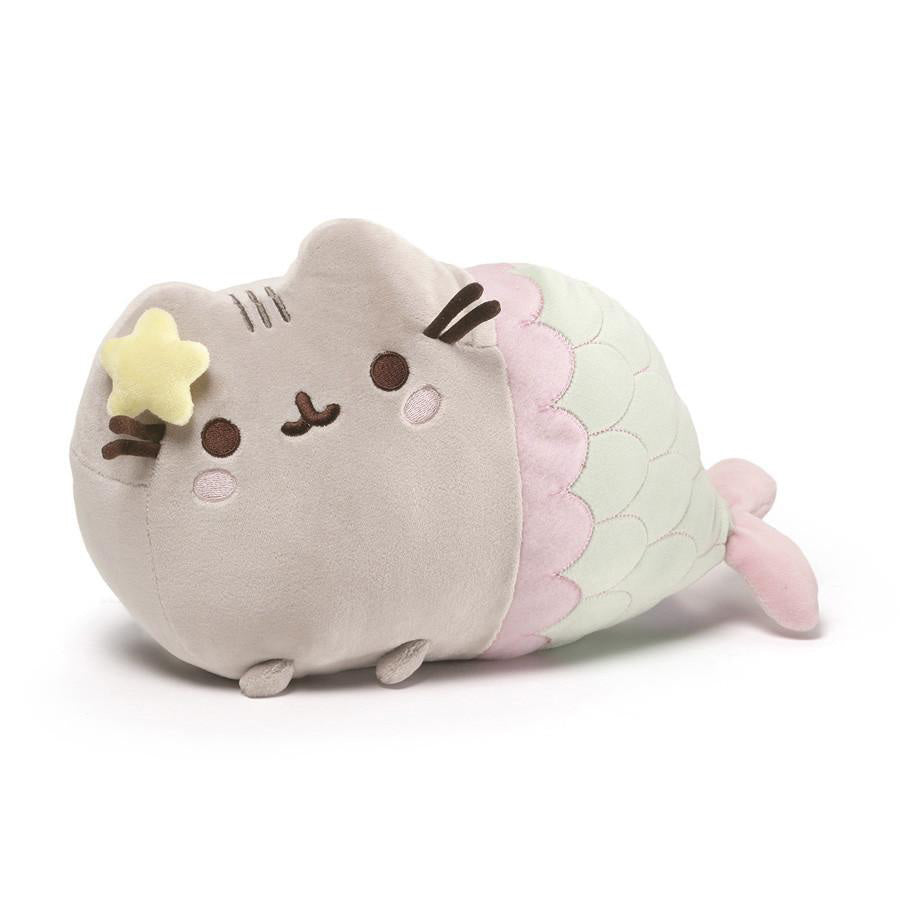 PUSHEEN MERMAID WITH STAR 12""