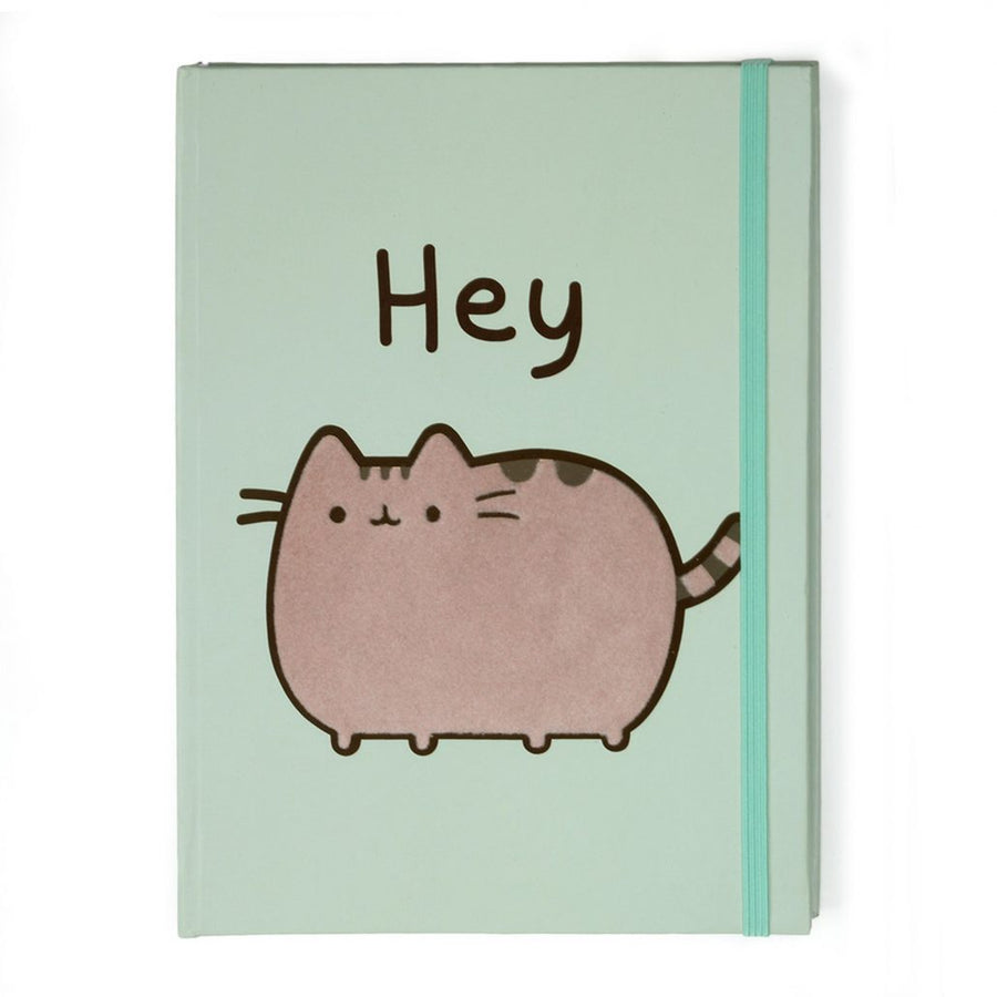Pusheen Journal Hey