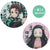 Demon Slayer: Kimetsu no Yaiba - Diamond Badge set (2pcs) Tanjiro & Nezuko