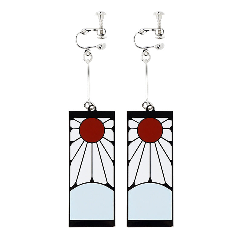 Demon Slayer : Kimetsu no Yaiba Earring ( B : Tanjiro )