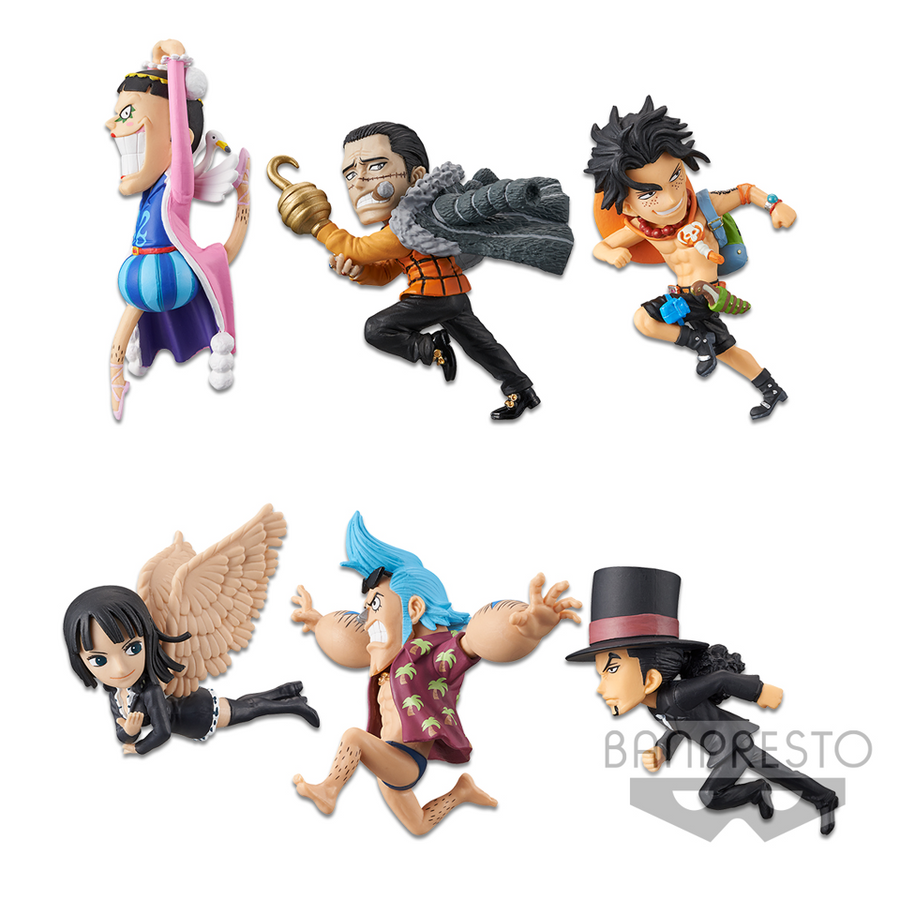 ONE PIECE - WORLD COLLECTABLE FIGURE - HISTORY RELAY 20TH - VOL. 2 (SET)