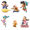 DRAGON BALL - WORLD COLLECTABLE FIGURE - THE HISTORICAL CHARACTERS (SET)