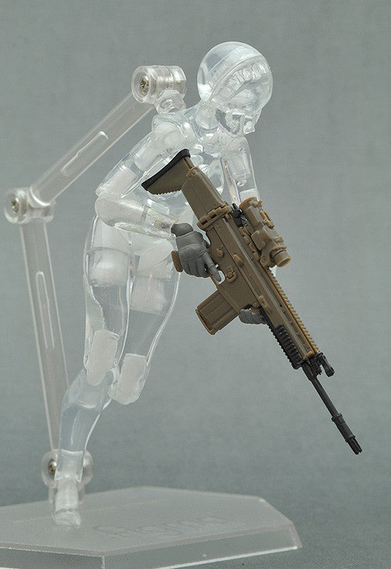 LittleArmory-OP5: figma Tactical Gloves (Mas Grey)