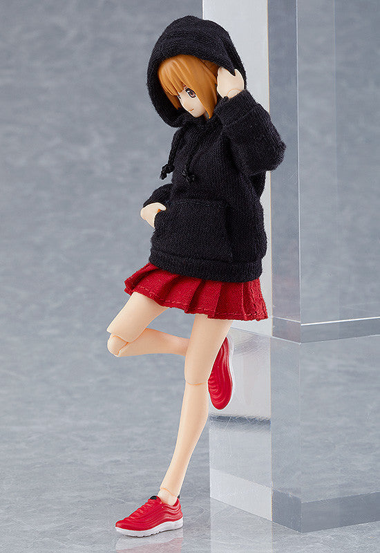 figma 478 Female Body ( Emily ) with Hoodie Outfit