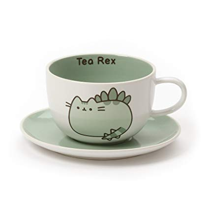 Pusheen Tea Rex Cup & Saucer Set