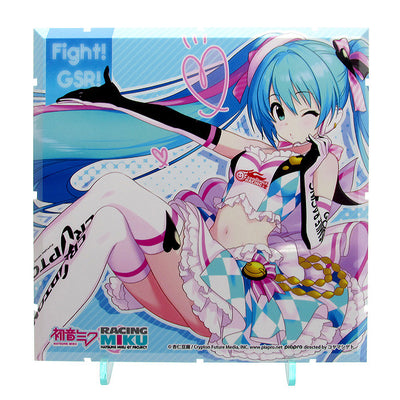 Dioramansion 150: Racing Miku Pit 2019 Optional Panel - Rd.6 AUTOPOLIS