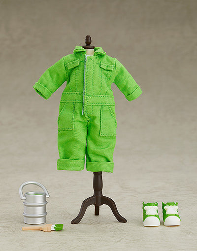 Nendoroid Doll: Outfit Set (Colorful Coveralls - Lime Green)