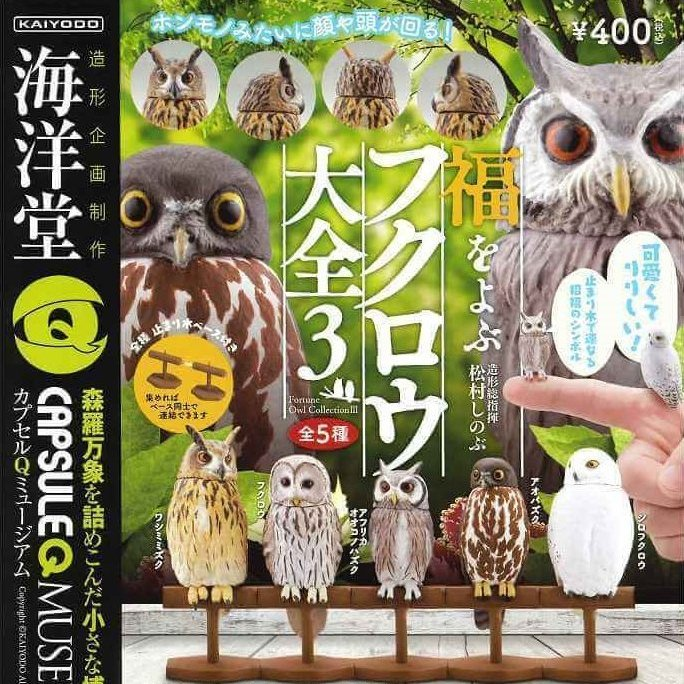CP0463 CapsuleQ Museum Owl Collection Vol 3