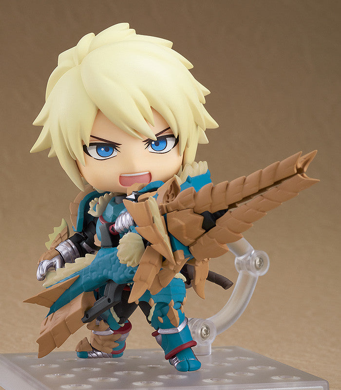 Nendoroid 1421-DX Hunter : Male Zinogre Alpha Armor Ver. DX