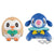 POKEMON SUN & MOON BIG PLUSH ~ROWLET・POPPLIO