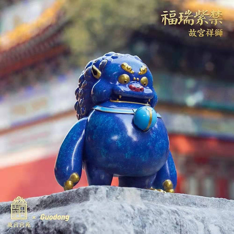 Madology x Guodong Chinese Royal Mythical Animals -  Lucky Lion Gold Enamel