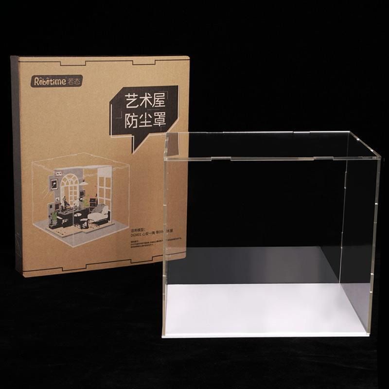 Acrylic Dust Cover Display Case MEDIUM