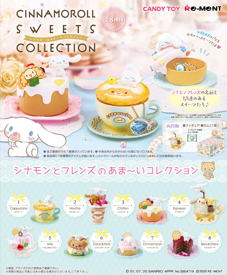 CINNAMOROLL : SWEETS COLLECTION