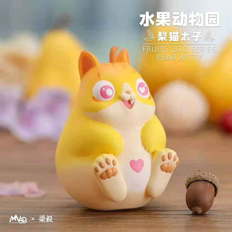 FRUITS ZOO SERIES-PEAR KITTY-LOVE