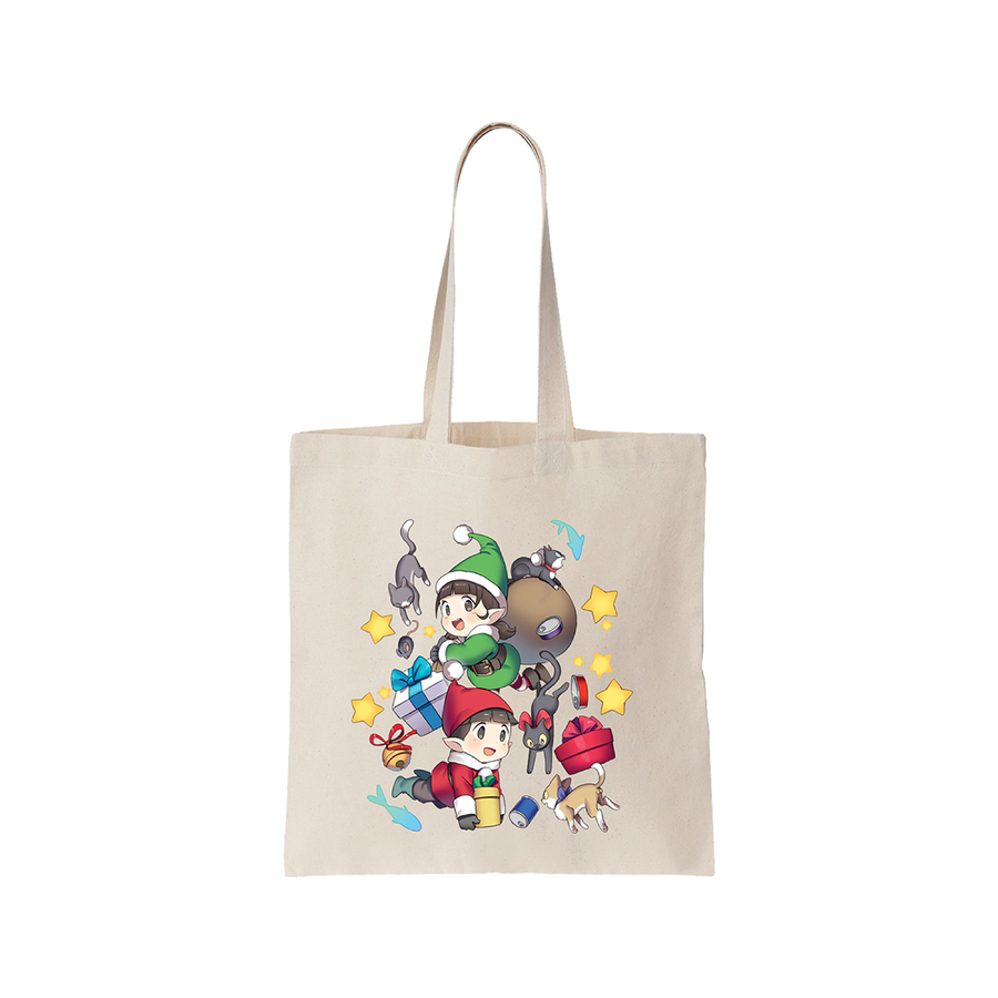 FigFig Po's little planet Canvas Bag