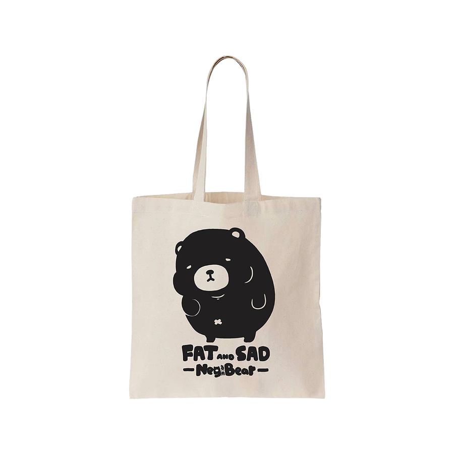 FigFig NegBear Canvas Bag