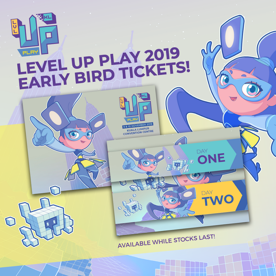 LEVEL UP PLAY 2019 - EARLY BIRD TICKETS