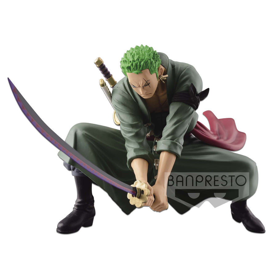 ONE PIECE SCULTURES BIG BANPRESTO FIGURE COLOSSEUM 4 VOL 3 Zoro