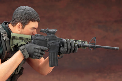 RESIDENT EVIL: VENDETTA CHRIS REDFIELD ARTFX STATUE