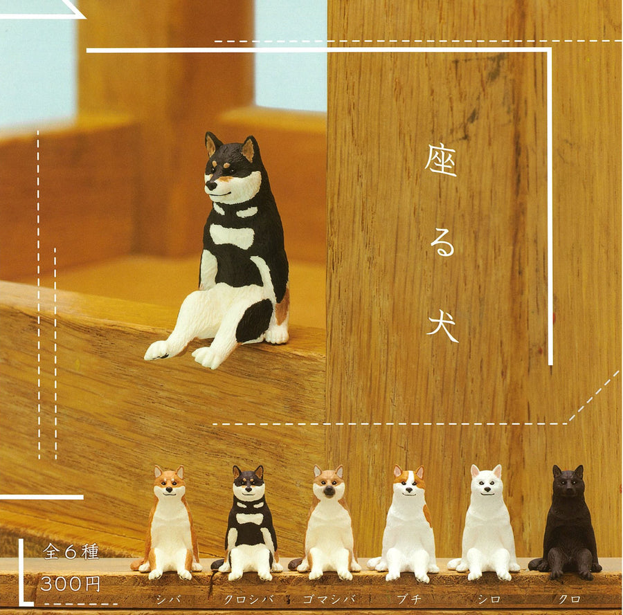 CP0334T - Sitting Dog - Complete Set