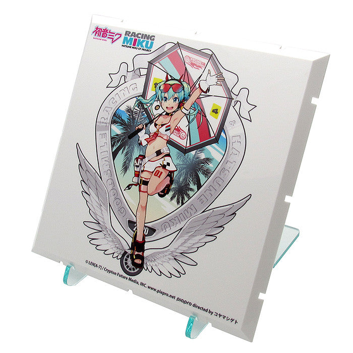 Dioramansion 150 : Racing Miku Pit 2020 Optional Panel Tropical Ver.