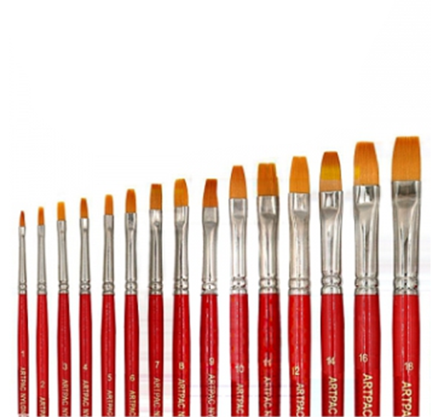 Artpac Nylon Series 448 Flat Brush