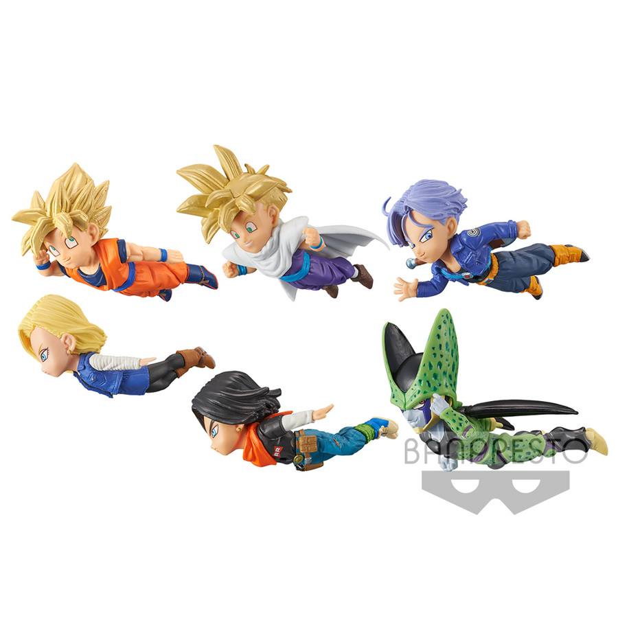 DRAGON BALL Z WORLD COLLECTABLE FIGURE THE HISTORICAL CHARACTERS VOL. 2 (SET)