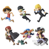 ONE PIECE WORLD - COLLECTABLE FIGURE - HISTORY RELAY 20TH - VOL.1 (SET)