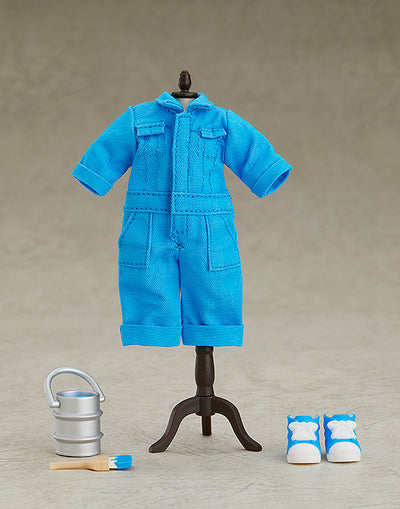 Nendoroid Doll: Outfit Set (Colorful Coveralls - Blue)