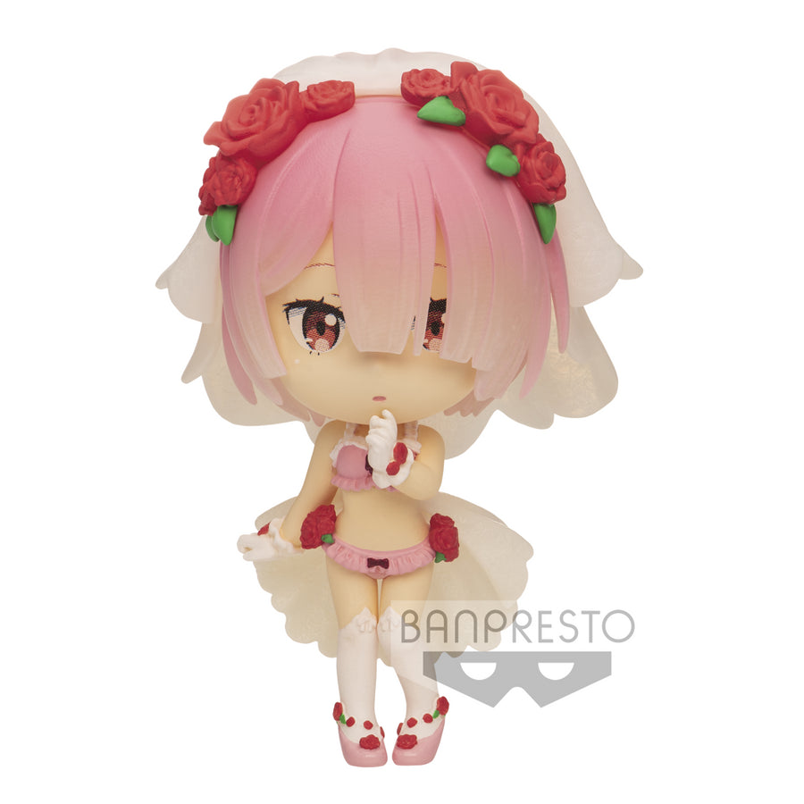 CHIBIKYUN CHARACTER FIGURE- RE : ZERO - VOL.1 - RAM