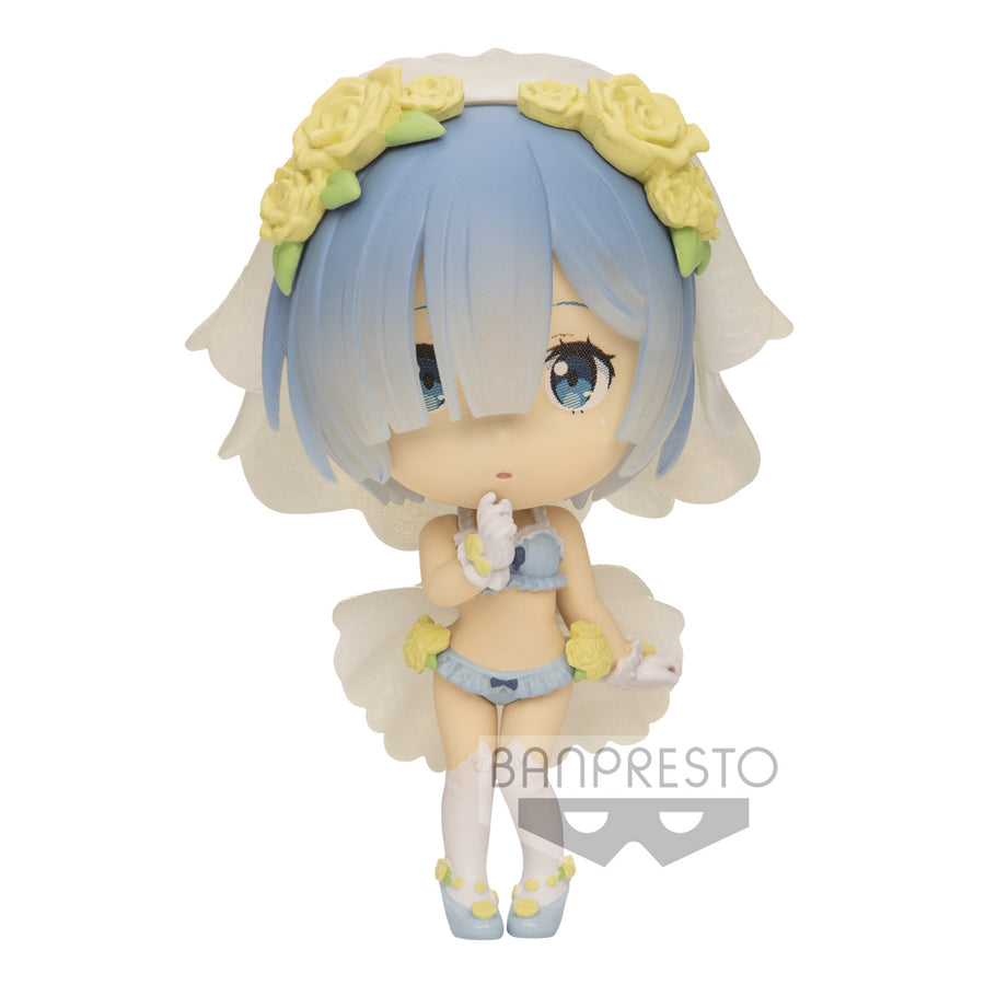 CHIBIKYUN CHARACTER FIGURE - RE : ZERO - VOL.1 - REM