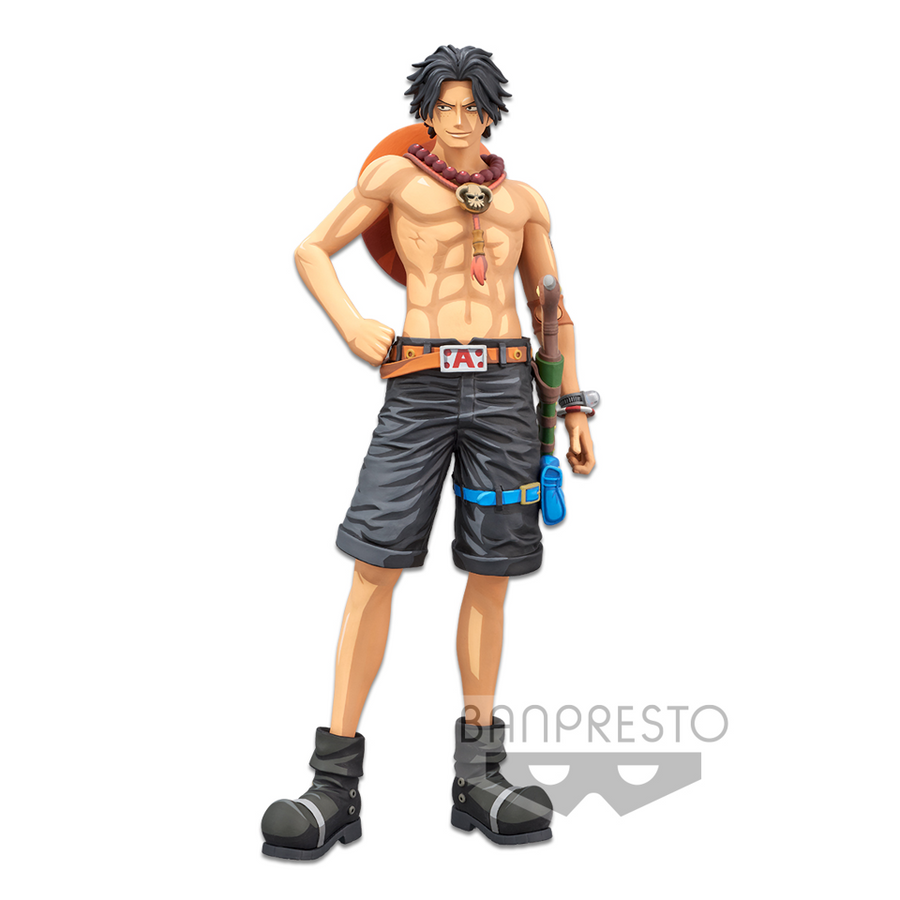 ONE PIECE GRANDISTA PORTGAS D ACE MANGA DIMENSIONS