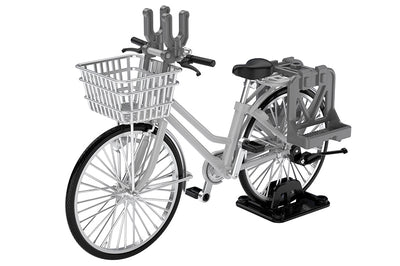 Little Armory LM006 Commuting Bicycle Defense School Silver