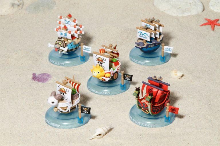 YURAYURA ONE PIECE PIRATES SHIPCOLLECTION