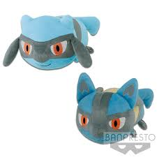Pokémon Sun & Moon KORORIN FRIENDS BIG PLUSH-RIOLU・LUCARIO