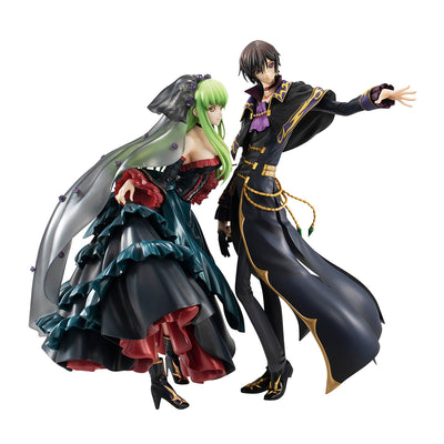 Precious G.E.M. CODE GEASS Lelouch of the Resurrection L.L & C.C set