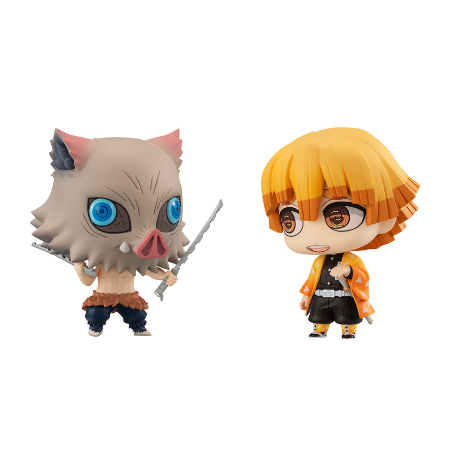 CHIMIMEGA BUDDY SERIES Demon Slayer ZENITSU & INOSUKE
