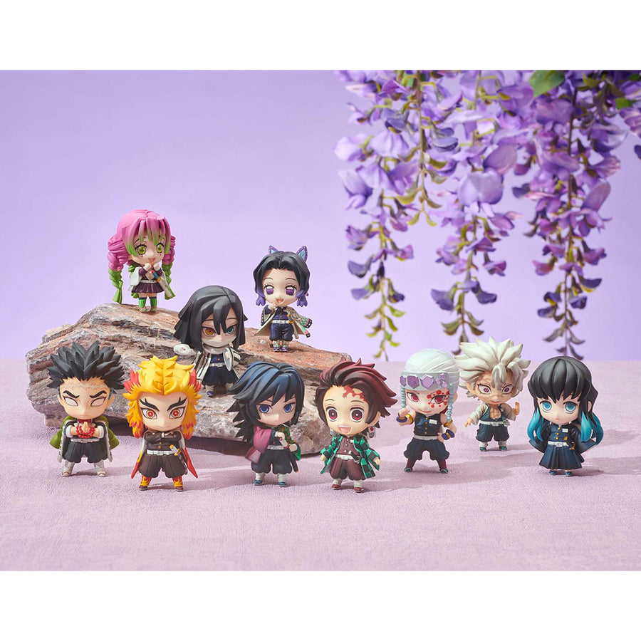 DEFORMATION FIGURE - Demon Slayer Tanjirou & the HASHIRAs Mascot set A & B Box 【with gift】